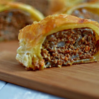 Gussied Up Sausage Roll.