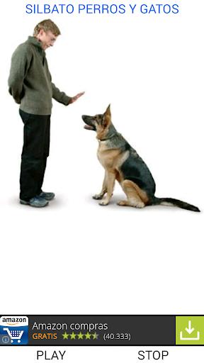 Silbato para perros y gatos