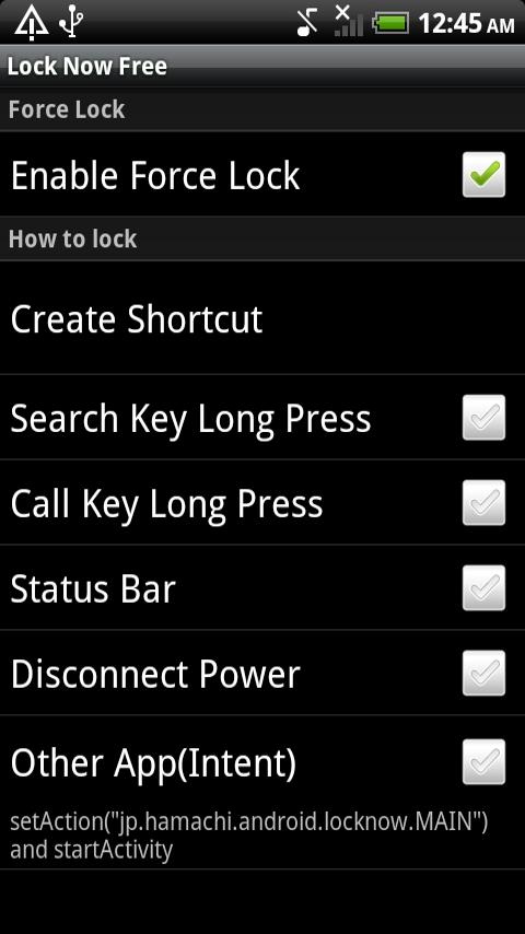 Lock Now Free- screenshot