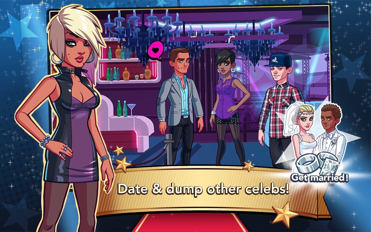 stardom hollywood dating Download stardom: hollywood and enjoy it on your iphone, ipad, and ipod touch read reviews you can now send gifts to your date to change their clothes.