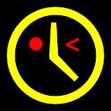 Maux Simple Digi Clock Light icon