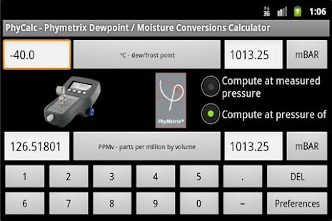 PhyCalc Lite- screenshot thumbnail