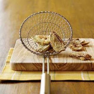 Deep-Fried Baby Artichokes