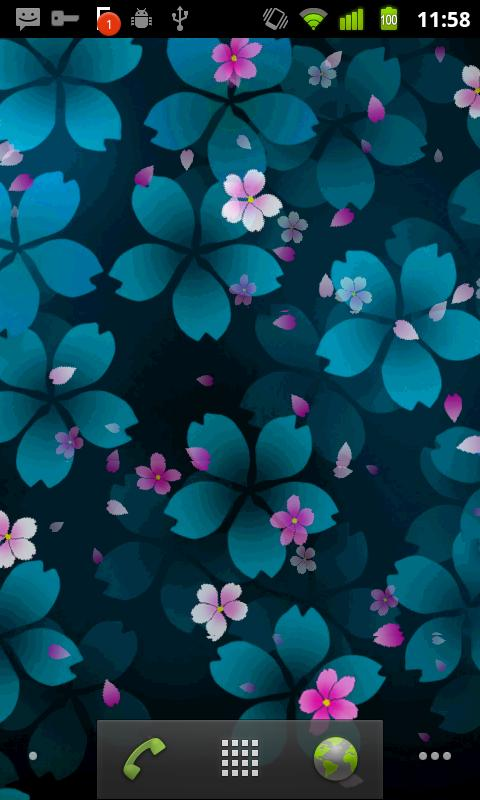 Sakura Falling Live Wallpaper - screenshot