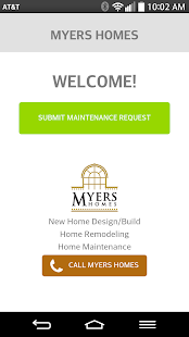 Myers Homes Service Request- screenshot thumbnail