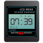 Retro LCD Wear Watchface icon