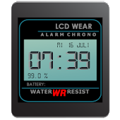 Retro LCD Wear Watchface