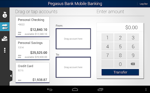 Pegasus Bank Mobile Banking - screenshot thumbnail