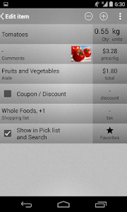 Mighty Shopping List Free screenshot 2