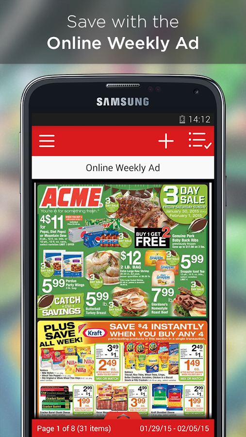ACME Markets- screenshot