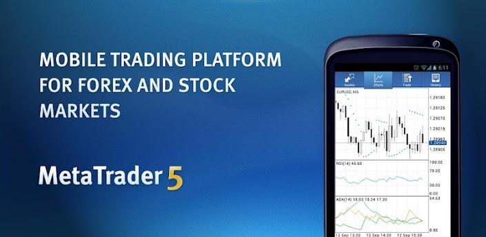 MetaTrader 5 - мобильная торговая платформа для Android