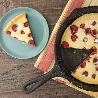 Raspberry Skillet Pancake.