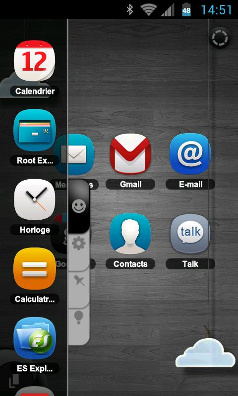 TSF Shell Theme meego HD - screenshot