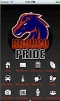Screenshot of Bronco Pride