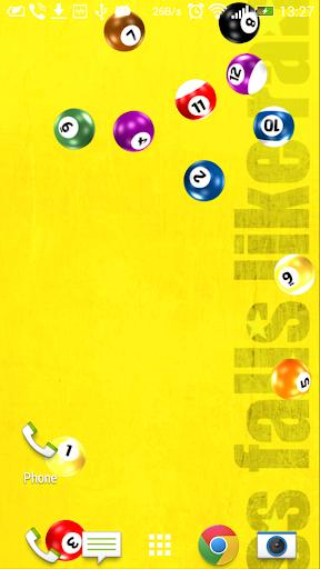 Ball Pool Live wallpaper