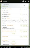 Screenshot of DietTime All Diet Sets