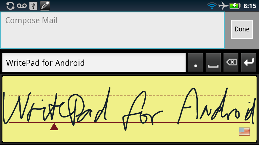 WritePad- screenshot
