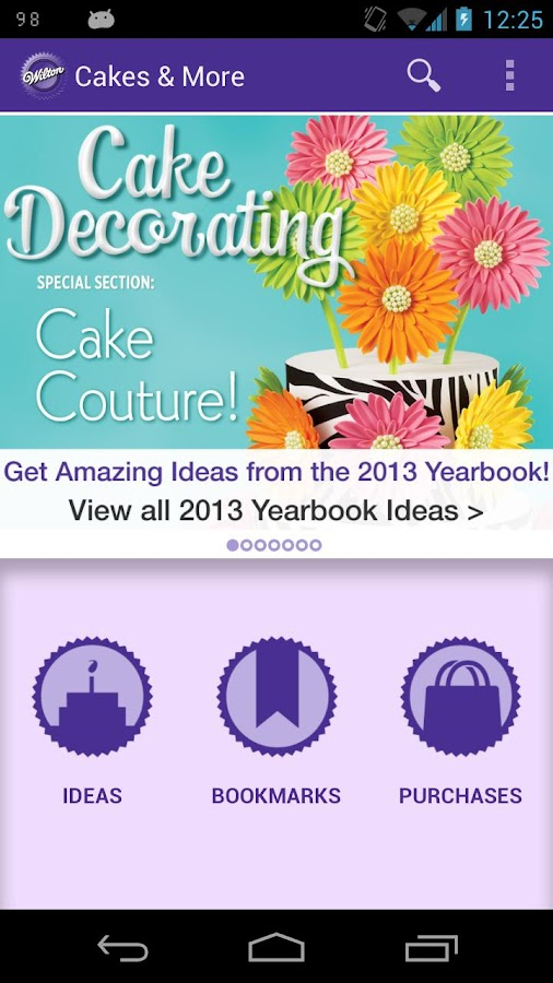 Wilton Cake Ideas & More - screenshot