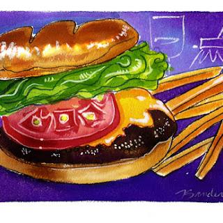 The Perfect Sewall's Point Hamburger.