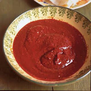 Basic Red Chili Sauce.