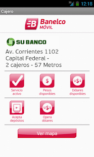 Banelco m vil android apps on google play for Cajeros link cercanos