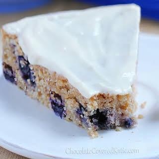 Lemon Blueberry Yogurt Cake.