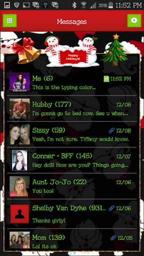 GO SMS THEME - SCS433