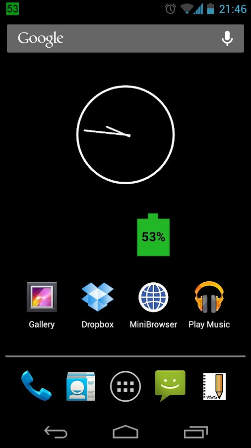 Long Battery Life- screenshot