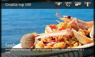 Screenshot of Croatia Top 100