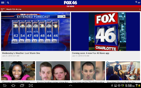 FOX 46 Charlotte- screenshot thumbnail