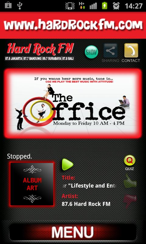 Hard Rock FM - screenshot