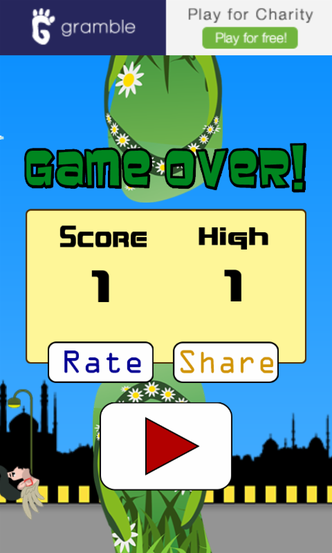 Oye Flappy- screenshot