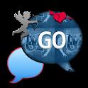 GO SMS THEME/GlitterValentineU icon