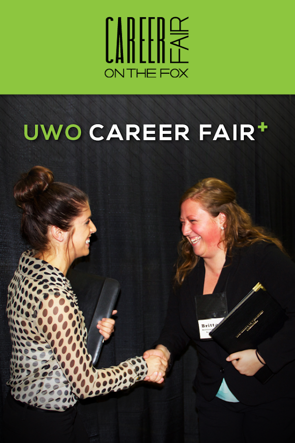 UWO Career Fair Plus- screenshot