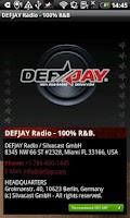 Screenshot of DEFJAY – 100% R&B