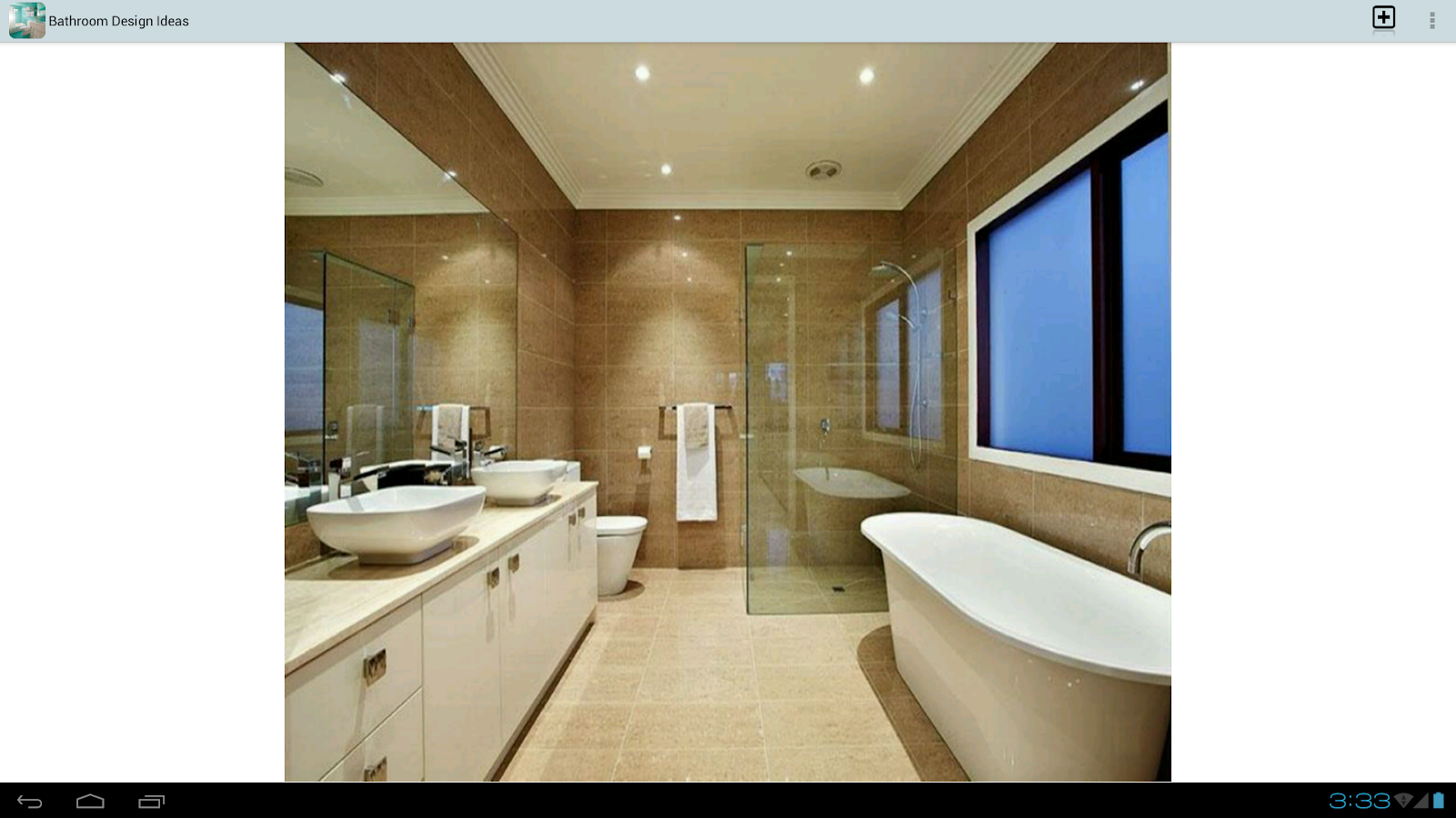 Bathroom design ideas android apps on google play for Bathroom layout app