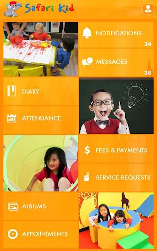 Safari Kid asia parent app