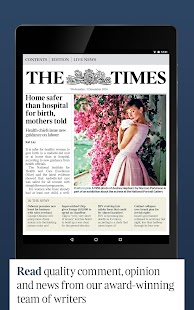 The Times & Sunday Times News - screenshot thumbnail