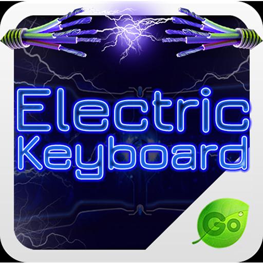 个人化のGOキーボードエレクトリック LOGO-記事Game