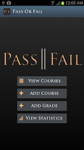 PassOrFail: Grade Manager- screenshot thumbnail