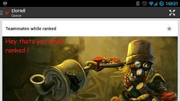 Screenshot of EloHell - League of Legends