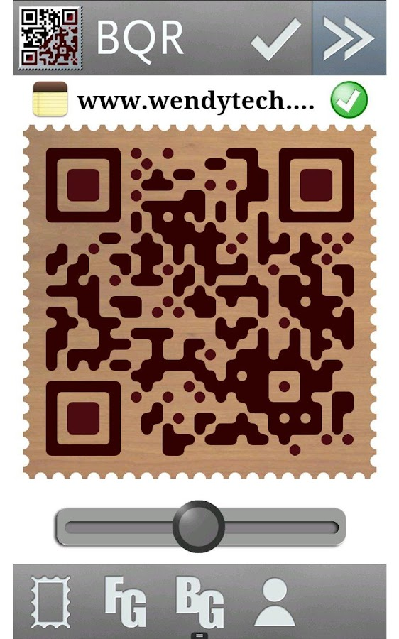 BeautyQR - QR code generator- screenshot