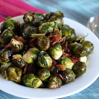 Bacon Balsamic Brussels Sprouts.