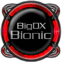 Bionic Launcher Theme Red icon