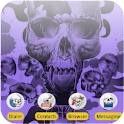 Destroyer Skull [SQTheme] ADW logo