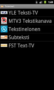 Teksti-TV - screenshot thumbnail