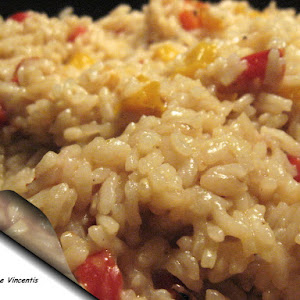 Sweet Bell Pepper Risotto