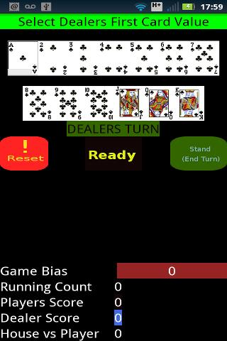 Blackjack Assistant- screenshot