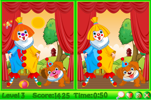 马戏团找不同|玩解謎App免費|玩APPs