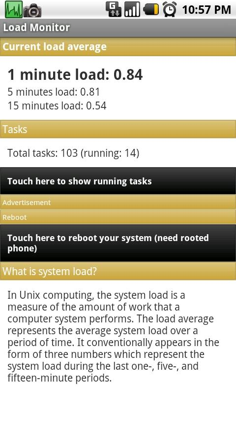 Load Monitor - screenshot